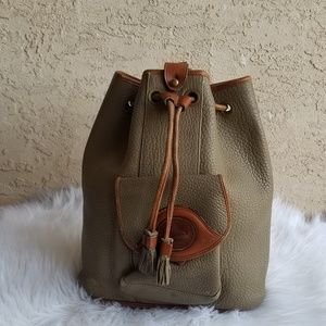 VINTAGE Dooney & Bourke  Sling bucket backpack